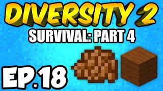 Minecraft: Diversity 2 Ep.18 - STARTING A FARM!!! (Diversity 2 Survival)