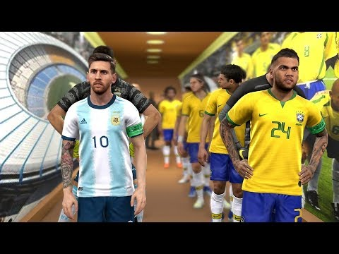 Brazil Vs Argentina - Semi Final - COPA AMERICA 2019 Prediction