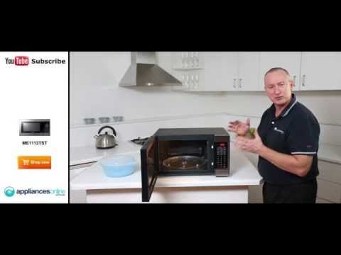 ME1113TST Samsung 32L Microwave Reviewed By Product Expert - Appliances Online