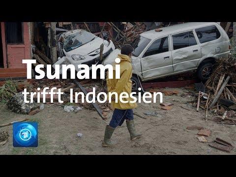 Indonesien: Viele Tote und Verletzte bei Tsunami