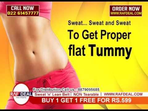 Sweat N Lean Belt Instant Slim Belt