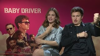 Video Baby Driver: Ansel Elgort crushes on Lily James MP3, 3GP, MP4, WEBM, AVI, FLV Januari 2018