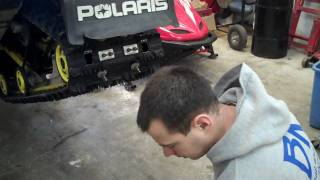 7. How to Change Your Hyfax on Your Snowmobile.