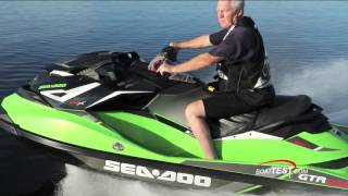 3. Sea-Doo GTR-X 230 (2017-) Test Video - By BoatTEST.com