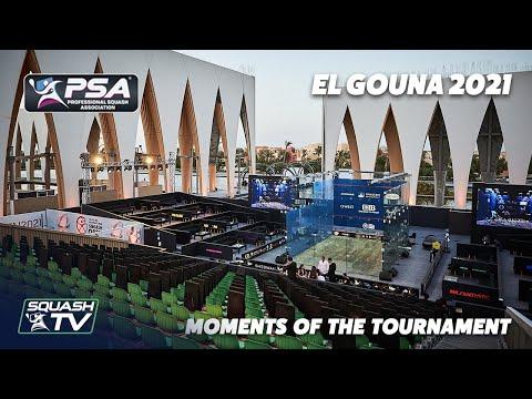 Squash: El Gouna 2021 - Moments of The Tournament