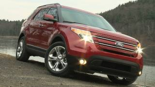 2012 Ford Explorer - Drive Time Review With Steve Hammes