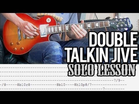 How To Play Double Talkin' Jive