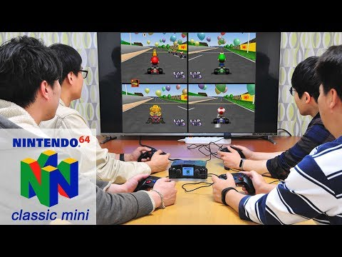 Nintendo 64 Mini 4 Player Clone Case For Odroid