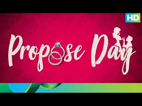 Week of Love Day to propose video