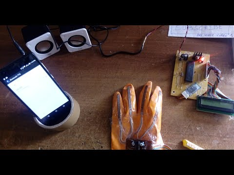 Sign Language to Speech Translation System Using PIC Microcontroller