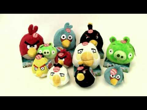 Pluszaki Angry Birds z TakaPaka