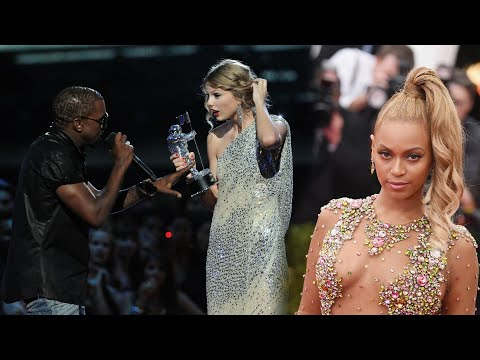 Beyonce Cried and Pink Chewed Out Kanye West After He Interrupted Taylor Swift's 2009 VMAs Speech