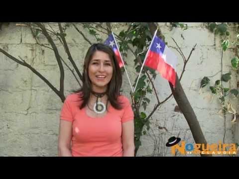 Saludo de Fiestas Patrias Claudia Nogueira