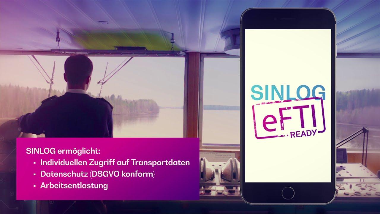 SINLOG - Digitale Schifffahrtsdokumente