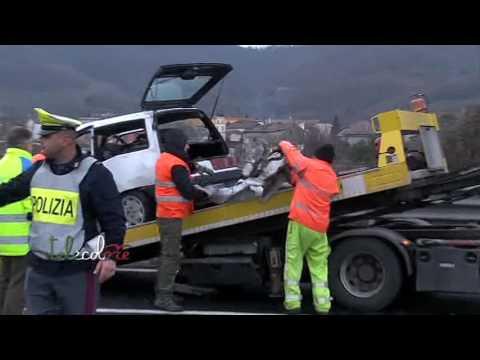 Contromano sull'autostrada A30 Caserta - Salerno, perde la vita coppia di anziani