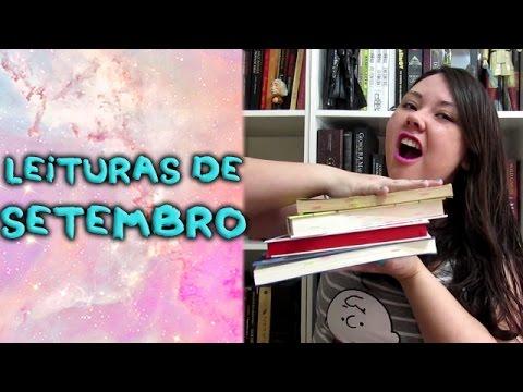 Leituras de setembro + encerramento #TBRemCacos