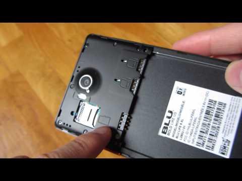 BLU Life 8 XL (2015) - Dual Micro SIM Slots and SD Card Slot