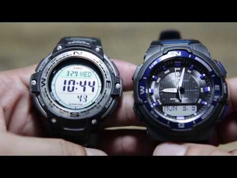 Casio OutGear : SGW-100 VS SGW-500H - Action.News ABC Action News Santa Barbara Calgary WestNet-HD Weather Traffic