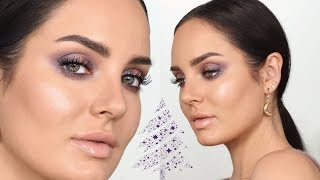 Iridescent Purple Makeup for the Holidays! \\ Chloe Morello by Chloe Morello