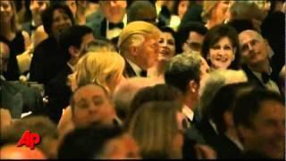Obama Roast Donald Trump! 2011 White House Correspondents Dinner