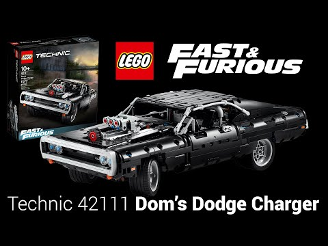 FAST & FURIOUS LEGO Technic REVEALED - 42111 Dom's Dodge Charger