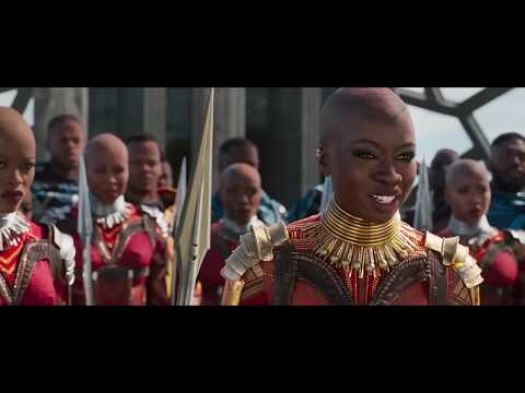 New Trailer 2018 BLACK PANTHER Final Superhero Marvel Move HD