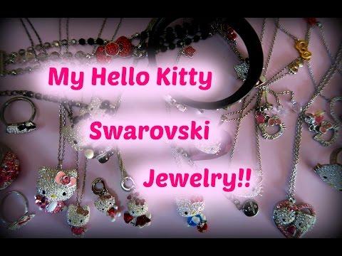 My Hello Kitty Swarovski Jewelry!!