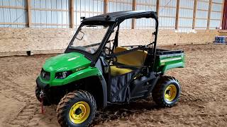 8. Introducing New 2018 John Deere  XUV 590M Gator