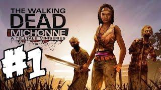 The Walking Dead Michonne Gameplay Developer Walkthrough Part 1 Demo & Analysis Breakdown Review