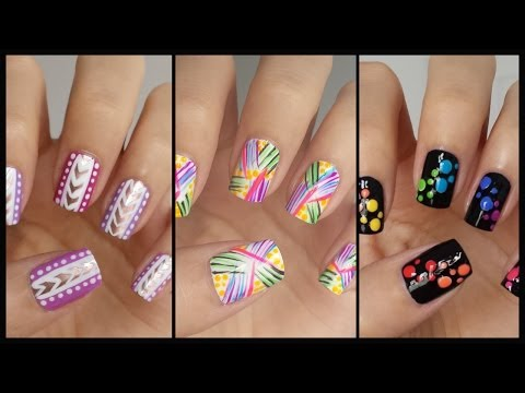 Nail - Want more nail art for beginners? Check out the official playlist! http://www.youtube.com/playlist?list=PLoGiIe4TxmPR2XBcFNHpGUInxzgc2S_I0 -Nail Stripers: ht...
