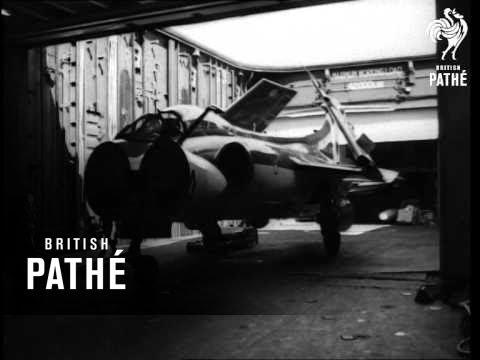 На британском авианосце HMS Victorious; 1966 год