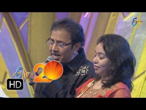 Vandemataram-Srinivas-Srilekha-Performance-Andala-Poolaremma-Song-in-Tirupathi-ETV-20-Celebrations