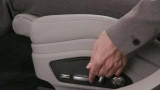 Front Seat Operation - Panamera