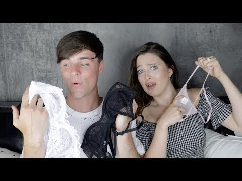 Husband Buys Wife LINGERIE | Shopping Challenge