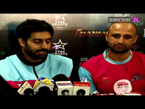 Pro Kabaddi final with Abhishekh bachchan and Aish