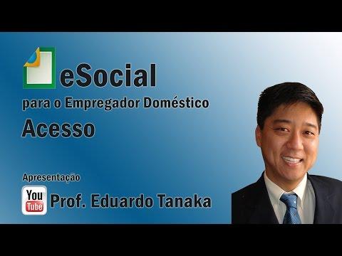 eSocial - Simples Doméstico - Acesso