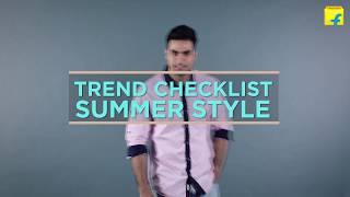 Flipkart Trend Checklist: Summer Styles for Men