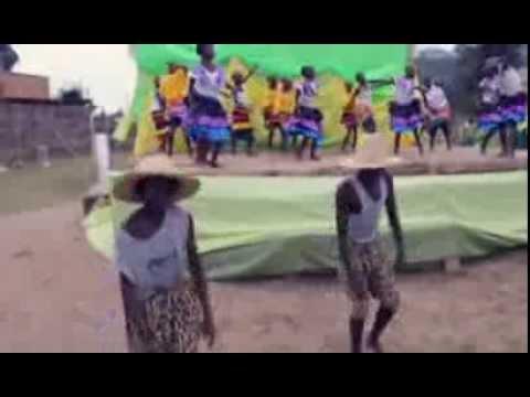 A Kabale school choir member dedicating a song to Julie Solberg