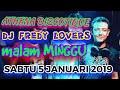 Download Lagu DJ FREDY SABTU 5 JANUARI 2019 ATHENA DISCOTIQUE BANJARMASIN HBI DJ FREDY TERBARU 2019 MALAM MINGGU Mp3 Free
