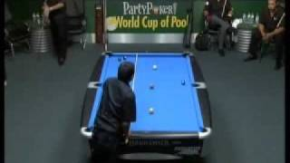 9 Ball World Cup Of Pool 2006 Doubles   ReyesBustamante Vs StricklandMorris Final Part2