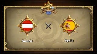 ESP vs AUT, game 1