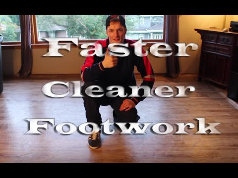 Bboy Tutorial   3 Techniques to gain faster and cleaner footwork.