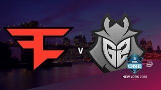 FaZe vs G2 - ESL One NY 2018 - map1 - de_inferno [ceh9, Enkanis]