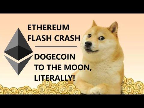 Kraken DEFENDS Ethereum Flash Crash; DOGECOIN TO THE MOON, Literally; OKex Using Algorand Blockchain