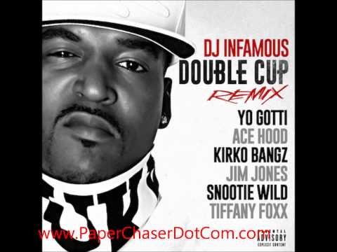 DJ Infamous - Double Cup (Rmx) Ft Kirko Bangz, Ace Hood, Yo Gotti, Snootie Wild, Tiffany Foxx (2014)