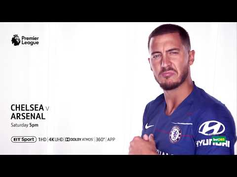 LIVE Premier League: Chelsea V Arsenal This Sat From 5pm