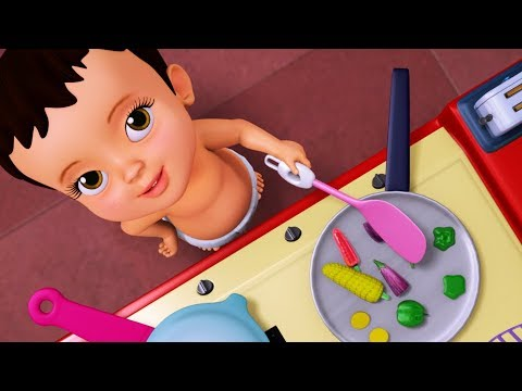 Oota Ready - Playing with Kitchen Set Toys | Kannada Rhymes for Children | Infobells