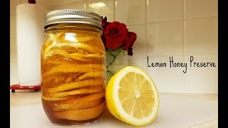 Here is a very simple way to preserve lemons. All you need is a clean mason jar, lemons and honey. Its just that easy. I also like to add sliced fresh ginger. A few spoons of this amazing liquid and hot water makes a perfect cup of tea. The health benefits alone are worth giving this recipe a try. The combination of the lemons and raw local honey can aid in gut, immune system and even skin health. This recipe is a great way to either maintain or even give you a boost to your immune system. INGREDIENTS2 to 3 medium to large lemons (be sure to thoroughly wash)1 to 1 1/2 cups honey (I used raw local honey)12 oz mason jar (I boiled jar in water for 10 to 12 minutes)How to Preserve LemonsHoney Lemon Preserve RecipeHow to make Lemon Honey TeaHealthy RecipePreserve Lemons Quick and EasyHow to Boost Your Immune SystemHow to fight the Common ColdHow to Preserve Lemons in HoneyMusic: George Street Shuffle by Kevin MacLeod is licensed under a Creative Commons Attribution license (https://creativecommons.org/licenses/by/4.0/)Source: http://incompetech.com/music/royalty-free/index.html?isrc=USUAN1300035Artist: http://incompetech.com/Cherry Blossom - Wonders by Kevin MacLeod is licensed under a Creative Commons Attribution license (https://creativecommons.org/licenses/by/4.0/)Source: http://incompetech.com/music/royalty-free/index.html?isrc=USUAN1100382Artist: http://incompetech.com/Music: http://www.bensound.com/royalty-free-musicSong Title: Jazz Comedy