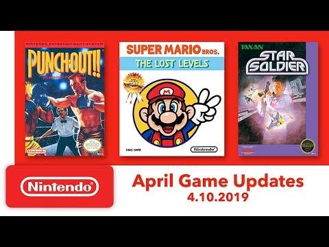 Nintendo Entertainment System - April Game Updates - Nintendo Switch Online - Thời lượng: 1:49.