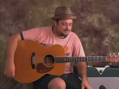 Acoustic Blues guitar lesson spice up that bluesy playing with Marty Schwartz